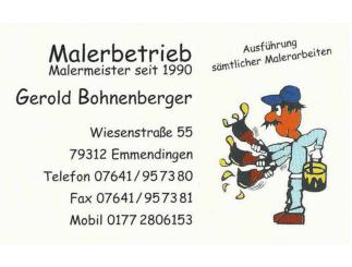 Malerbetrieb Bohnenberger